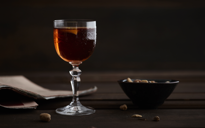 Grant's Rob Roy cocktail