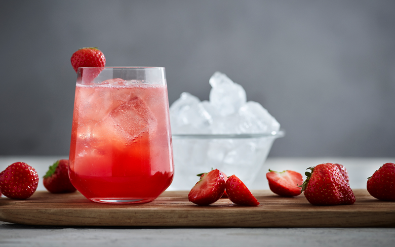Strawberry Sour drink