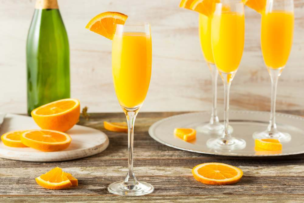 Mimosa drink