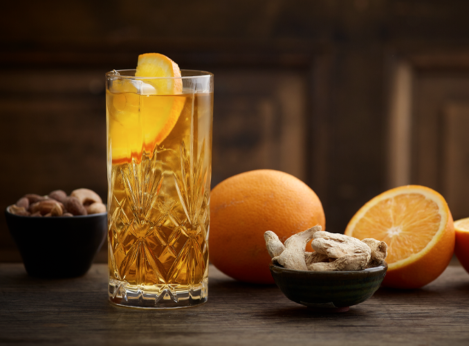 Tully Ginger drink